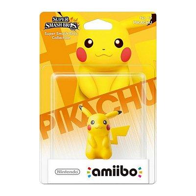 Amiibo Pikachu Pokémon Super Smash Bros Ultimate Switch 3ds