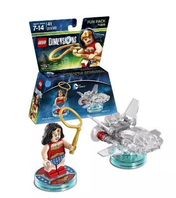 Dc Comics Wonder Woman Fun Pack - Lego Dimensions