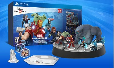 Disney Infinity 2.0 Marvel Super Heroes Collector's Edition PS4