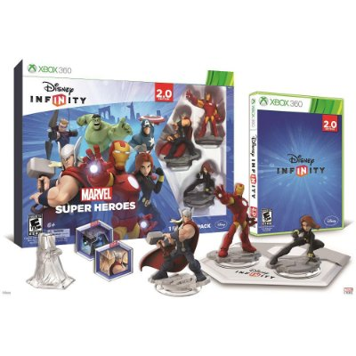 Disney Infinity 2.0 Marvel Super Heroes Starter Pack Xbox 360