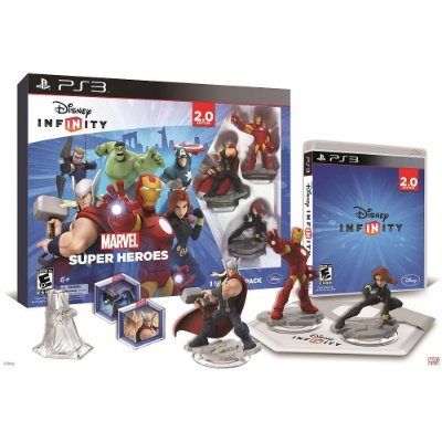 Disney Infinity 2.0 Marvel Super Heroes Starter Pack PS3