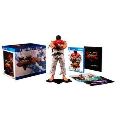 Street Fighter V Collector's Edition - Ps4