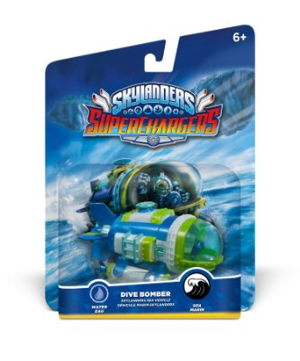 Skylanders SuperChargers: Vehicle Dive Bomber