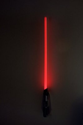 Luminária Star Wars Remote Control Lightsaber Darth Vader