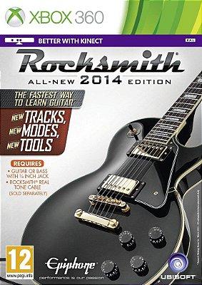 Rocksmith 2014 Edition - Somente Jogo Xbox 360