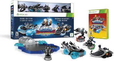 Skylanders Superchargers Dark Edition Starter Pack Xbox 360