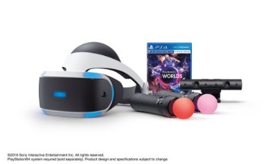 PlayStation VR Launch Bundle Worlds ZVR2 - Óculos Realidade Virtual