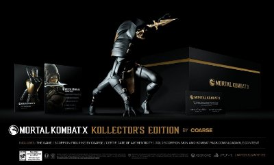 Mortal Kombat X Kollector's Edition by Coarse PS4