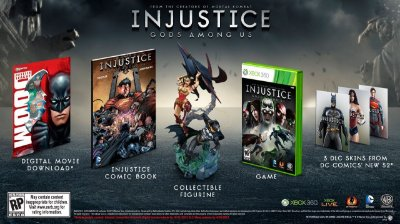 Injustice: Gods Among Us Collectors Edition Xbox 360