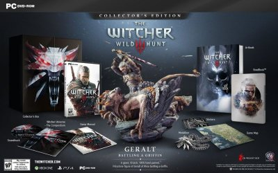 The Witcher 3 Wild Hunt Collector's Edition PC