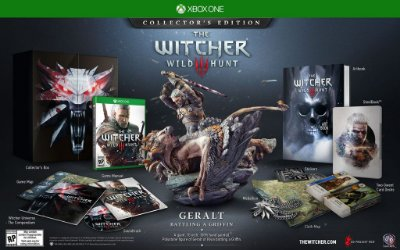 The Witcher 3 Wild Hunt Collector's Edition Xbox One