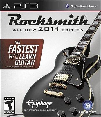 Rocksmith 2014 com Cabo PS3