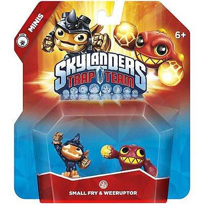 Skylanders Trap Team Minis: Small Fry e Weeruptor