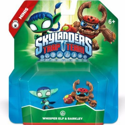Skylanders Trap Team Mini - Whisper Elf & Barkley