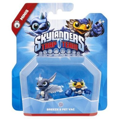 Skylanders Trap Team Mini - Breeze & Pet Vac