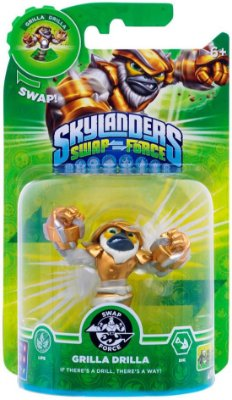 Skylanders Swap Force: Grilla Drilla