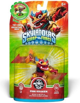 Skylanders Swap Force: Fire Kraken