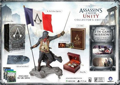 Assassin's Creed Unity Collector's Edition PS4
