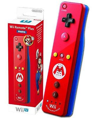 Controle Wii Wii U Remote Plus Mario