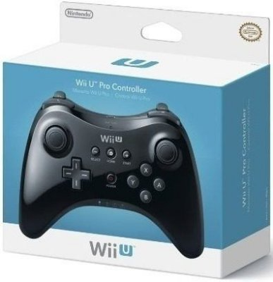 Controle Wii U Pro Controller Preto