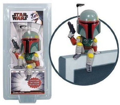 Bobblehead para Monitor PC ou TV Funko Star Wars Boba Fett