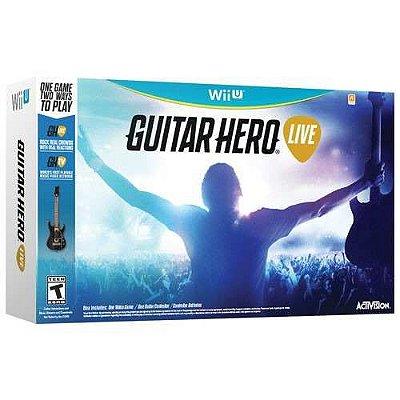 Guitar Hero Live Bundle com Guitarra Wii U