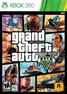 Grand Theft Auto V - GTA V - GTA 5 Xbox 360