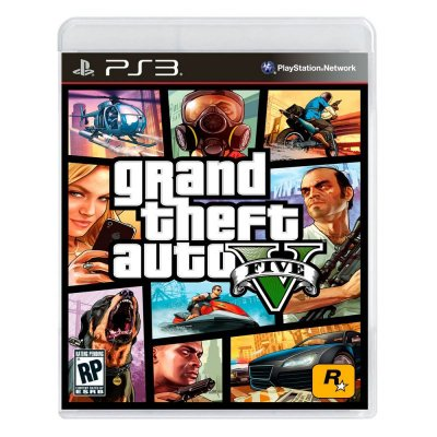 Grand Theft Auto V - GTA V - GTA 5 PS3