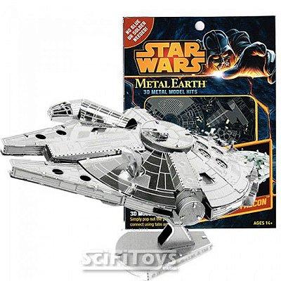 Star Wars Kits 3D Metal Model Millenium Falcon