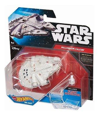Hot Wheels Star Wars Episode VII Vehicle Deluxe Millennium Falcon