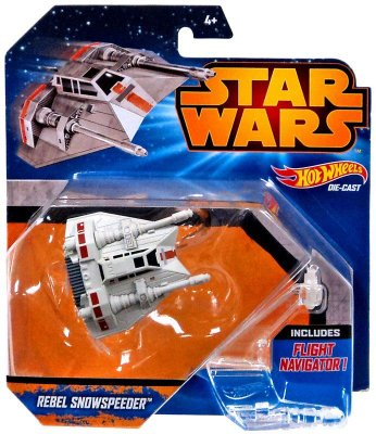 Hot Wheels Star Wars Episode VII Vehicle Deluxe Rebels Snowspeeder