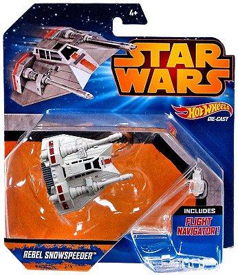 Hot Wheels Star Wars Episode VII Vehicle Deluxe Rebels Snowspeeder