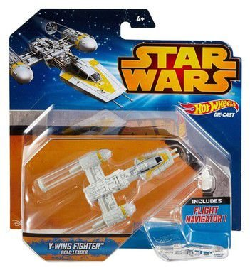 Hot Wheels Star Wars Episode VII Vehicle Deluxe Y-Wing