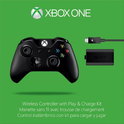 Controle Xbox One Wireless - Play And Charge Kit