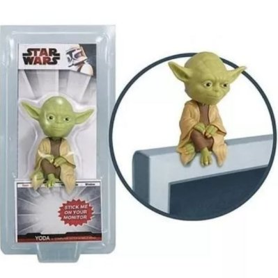 Bobblehead para Monitor PC ou TV Funko Star Wars Yoda