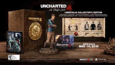 Uncharted 4: A Thief's End - Libertalia Collectors Edition