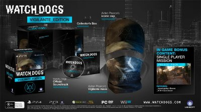 Watch Dogs Limited Edition Vigilante Xbox 360