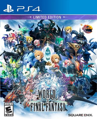 World of Final Fantasy Limited Edition - PS4