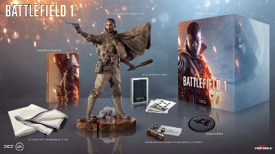 Battlefield 1 Exclusive Collector's Edition Deluxe Dlcs Ps4