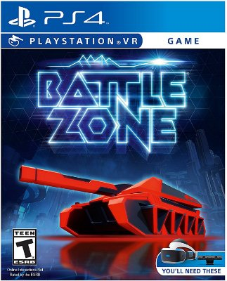 PSVR Battlezone - PS4 VR
