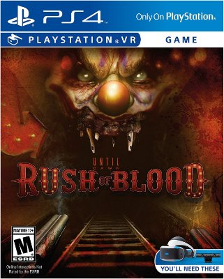 Until Dawn: Rush Of Blood - Ps4 VR