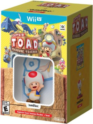 Captain Toad Treasure Tracker + Toad amiibo Wii U