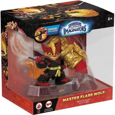Skylanders Imaginators Sensei Flare Wolf Figura Individual