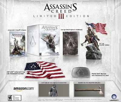 Assassin's Creed 3 Limited Edition Collectors - PS3
