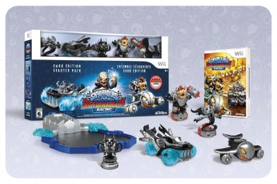 Skylanders Superchargers Dark Edition With Dark Bowser - Wii