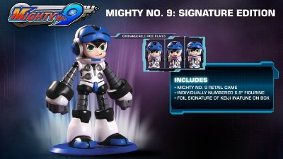 Mighty No. 9 Signature Edition C/ Boneco Beck - PS4