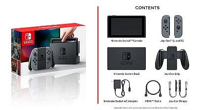 Console Nintendo Switch Preto 32Gb - Nintendo
