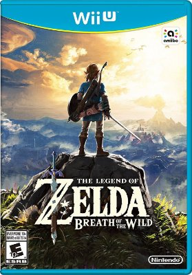 The Legend of Zelda Breath of the Wild - Wii U