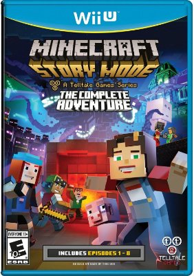 Minecraft: Story Mode The Complete Adventure - Wii U
