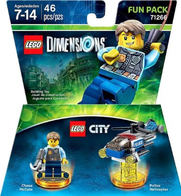 Lego City Chase McCain Fun Pack - Lego Dimensions